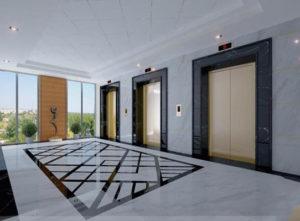 Mẫu thang máy cho tòa nhà, chung cư