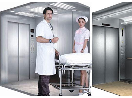Thang tải sử dụng trong bệnh viện