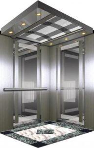 Mẩu thang máy tiêu chuẩn cho chung cư