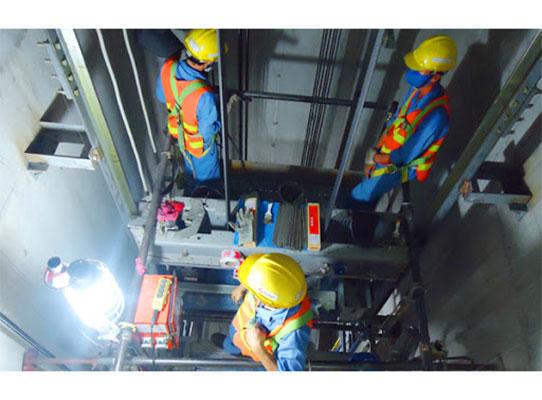 Lắp đặt, vận hành và bảo trì thang máy trọn đời